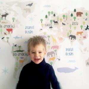 állatos világtérkép