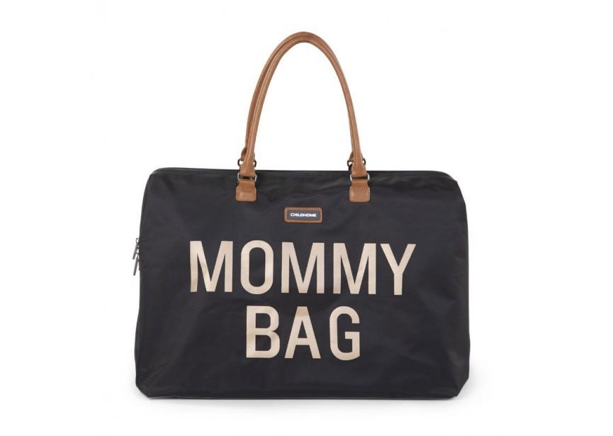 Divatos pelenkázó táska Mommy bag (fehér sötétkék