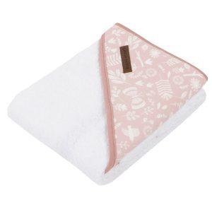 rózsaszín baba fürdőlepedő