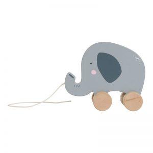 Húzható játék - elefánt