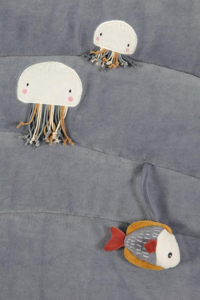 Little Dutch játszószőnyeg tengeri állatok kék