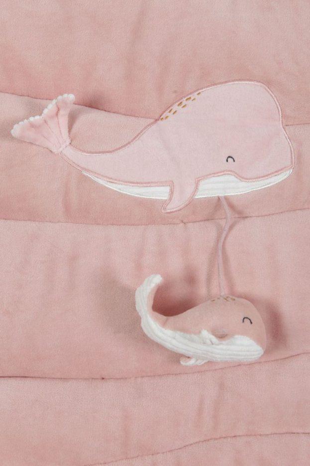Little Dutch játszószőnyeg - tengeri állatok (pink)