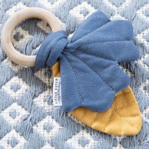 Little Dutch rágóka Pure&Nature mustársárga-kék