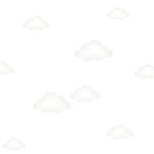felhő falmatrica