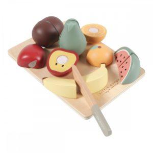 fa vágható játék gyümölcsök
