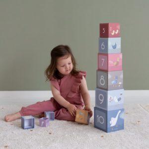 toronyépítő játék kocka